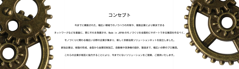 京都治具ソリューションネット コンセプト